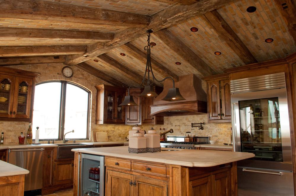 rustic elegance kitchen designed by Timme G Design